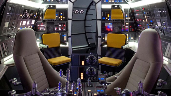 millennium falcon cockpit zoom virtual background