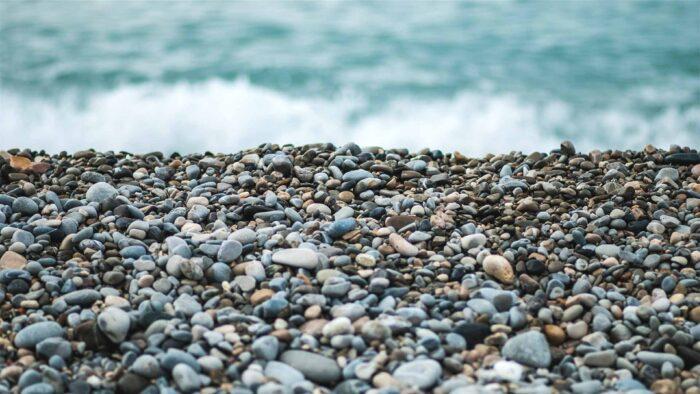 Pebble beach zoom background