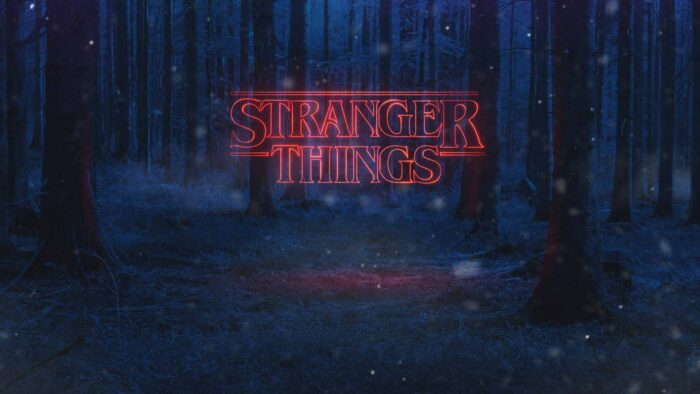 Stranger things Zoom background