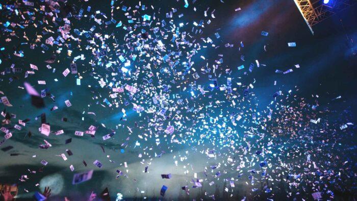 celebration zoom background