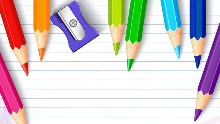 school zoom background