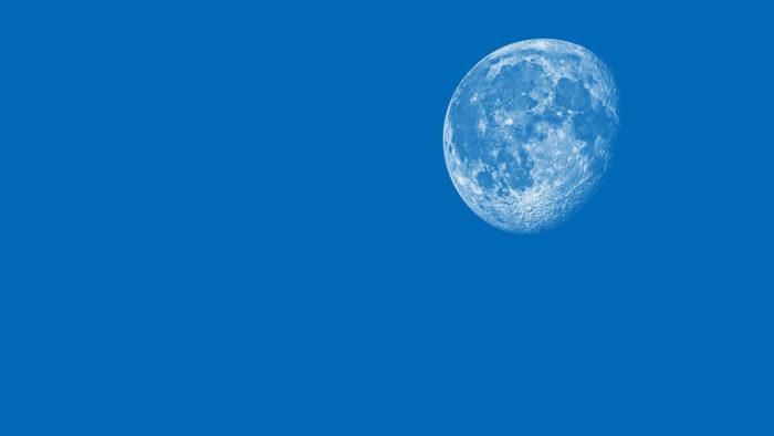 blue zoom background