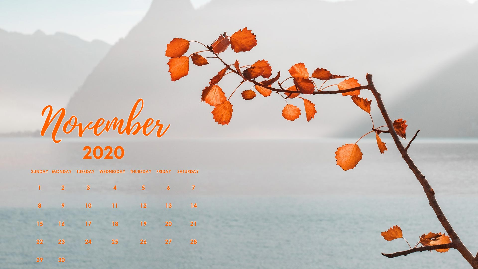 free november 2020 wallpaper desktop laptop
