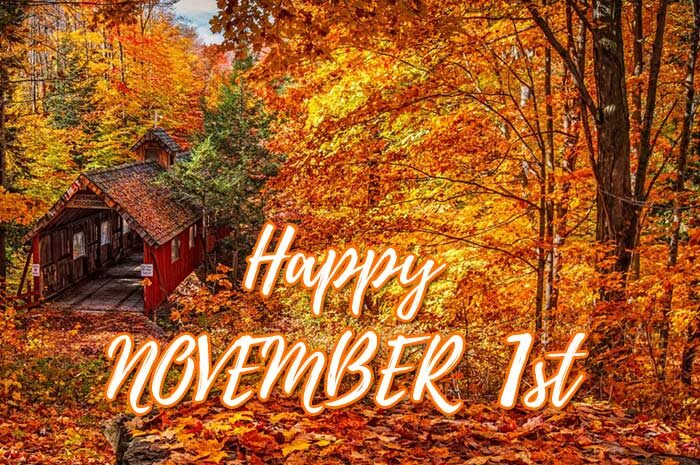 happy november 1st images
