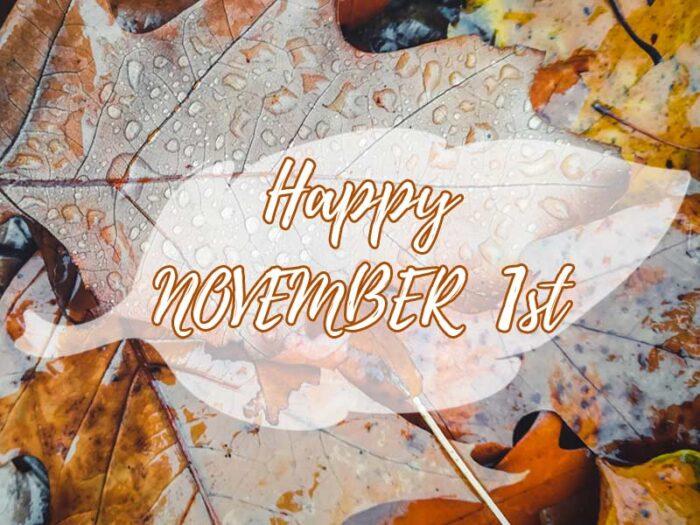 happy november 1st pics 2020 hello images