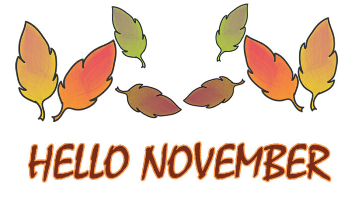hello november clipart 2020 images free welcome images