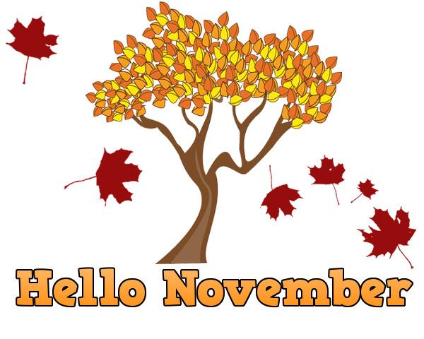 hello november clipart happy month clip art