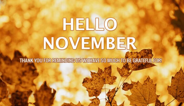 hello november quotes images pics 2020
