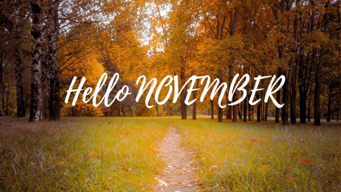 hello november wallpaper