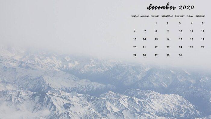 december 2020 free desktop wallpaper background