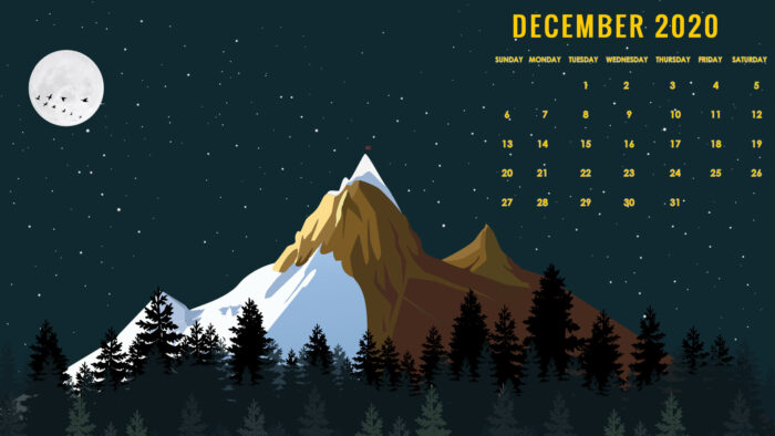 free december 2020 wallpaper desktop laptop