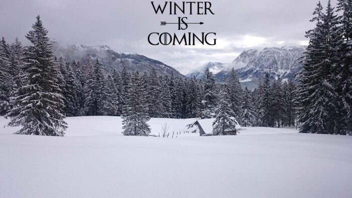 winter is coming zoom virtual backgrounds plain background