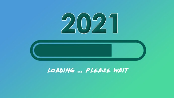2021 loading wallpaper happy New Year loading bar screen