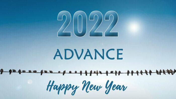 advance happy new year 2022 hd wallpaper download desktop laptop
