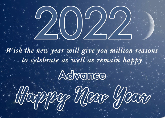 advance happy new year 2022 images with quotes
