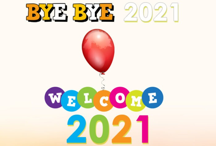 bye bye 2020 welcome 2021 images