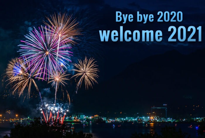 bye bye 2020 welcome 2021 images greetings card banner