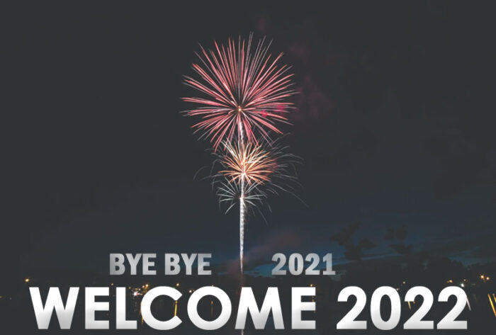 bye bye 2021 welcome 2022 images pics