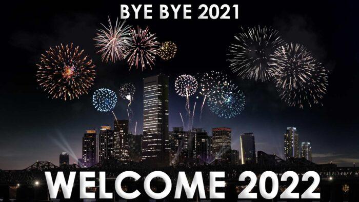 bye bye 2021 welcome 2022 wallpaper hd pic