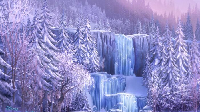 frozen zoom background