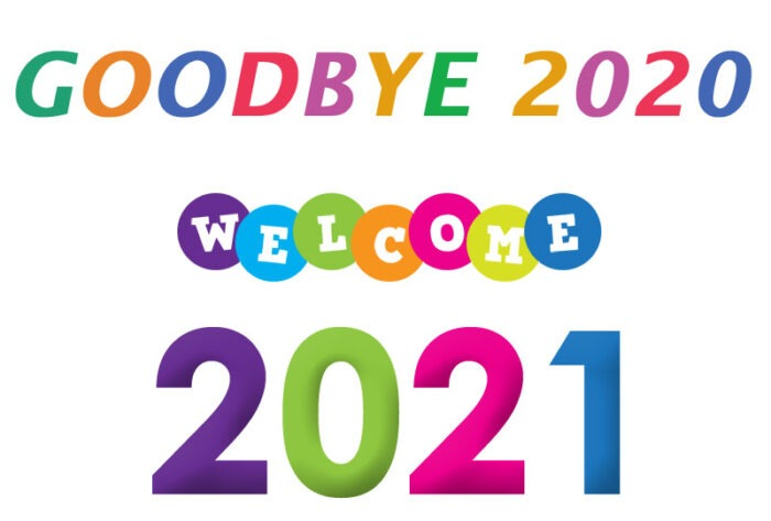 goodbye 2020 welcome 2021 clipart new year images free download