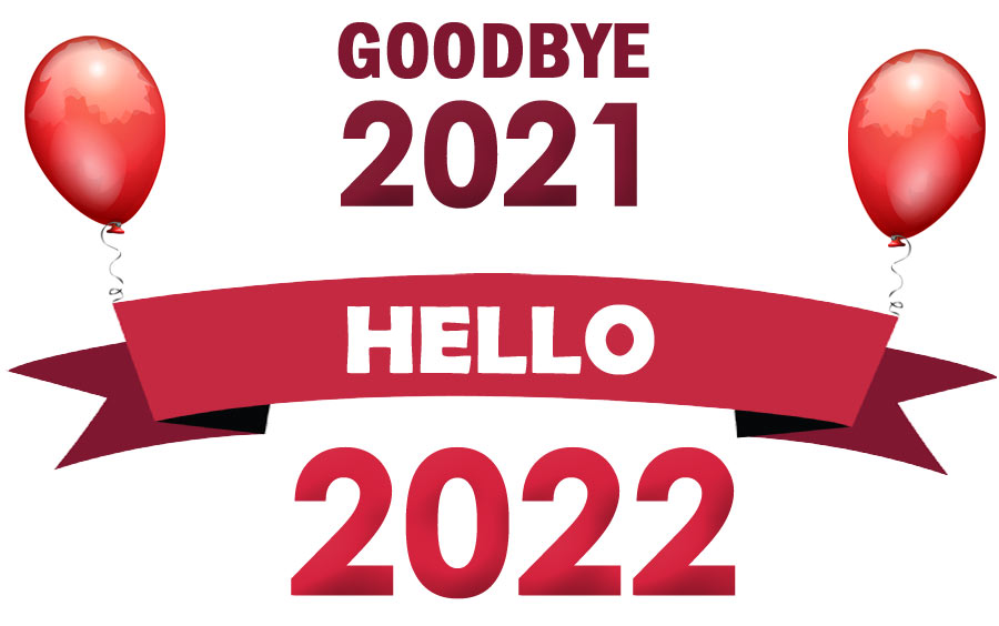 goodbye 2021 hello 2022 clipart free images