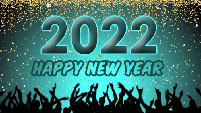 happy 2022 wallpaper high resolution background hd