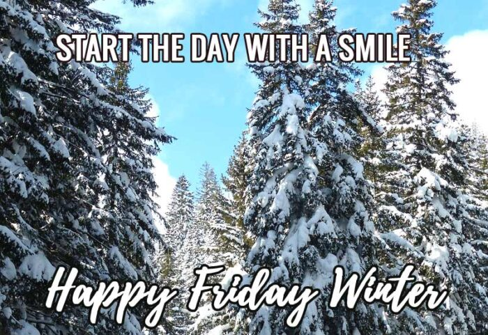 happy friday winter quotes pictures