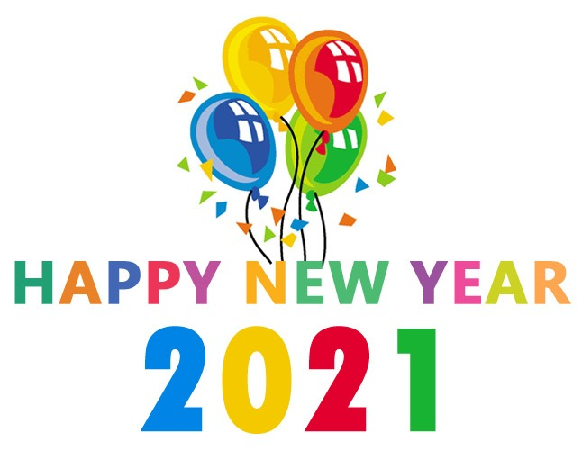 happy new year 2021 clip art free new year's day images