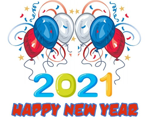 happy new year 2021 clipart images free download