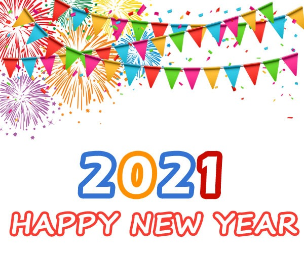 happy new year 2021 clipart