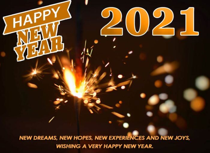 happy new year 2021 photo cards greetings wishes