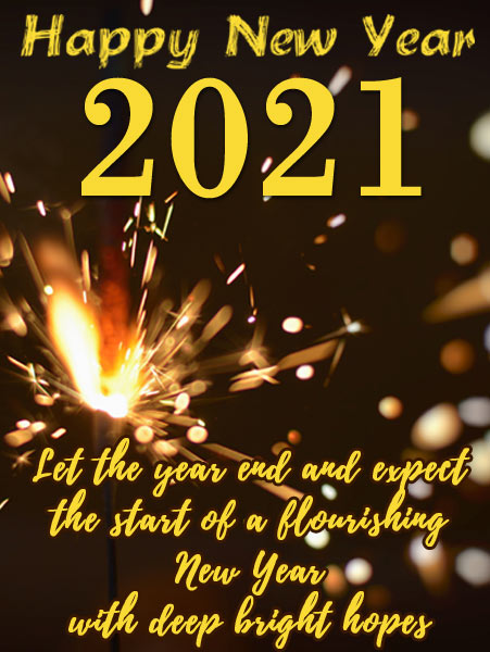 happy new year 2021 vertical banner background images
