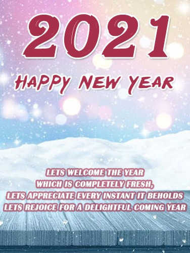 happy new year 2021 vertical images