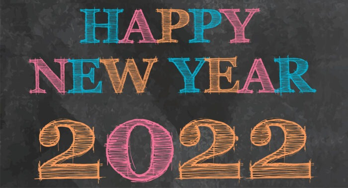 happy new year 2022 banner printable free poster images