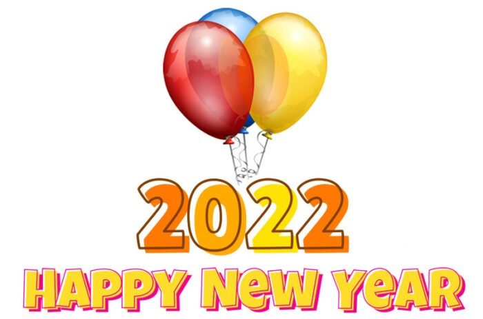 happy new year 2022 clipart images free download