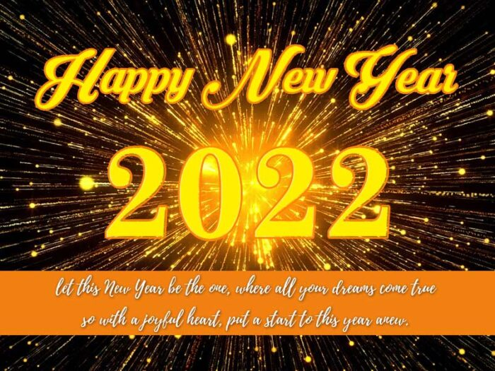 happy new year 2022 greetings quotes photos