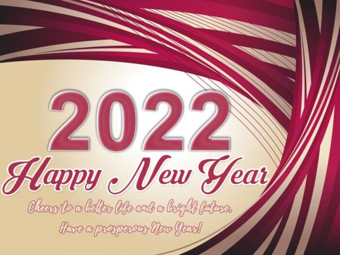 happy new year 2022 images with message pic