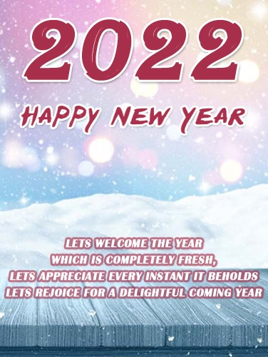 happy new year 2022 vertical images