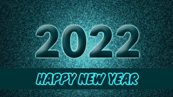 happy new year 2022 wallpaper hd