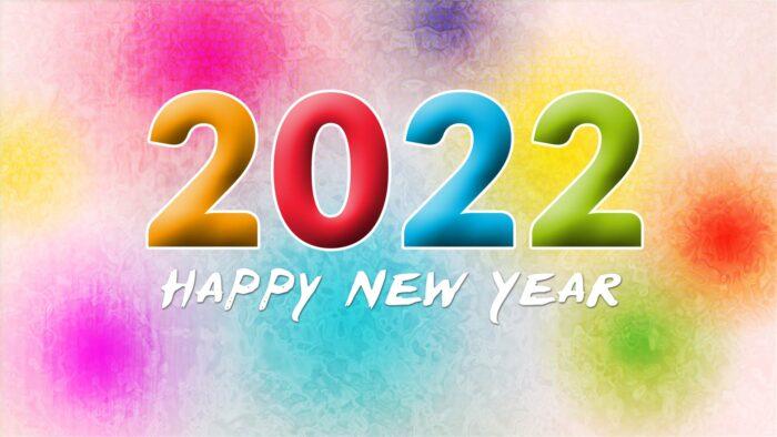 happy new year 2022 wallpaper full hd