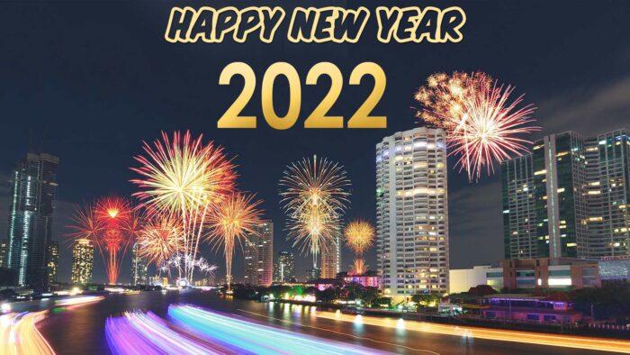 happy new year 2022 zoom background
