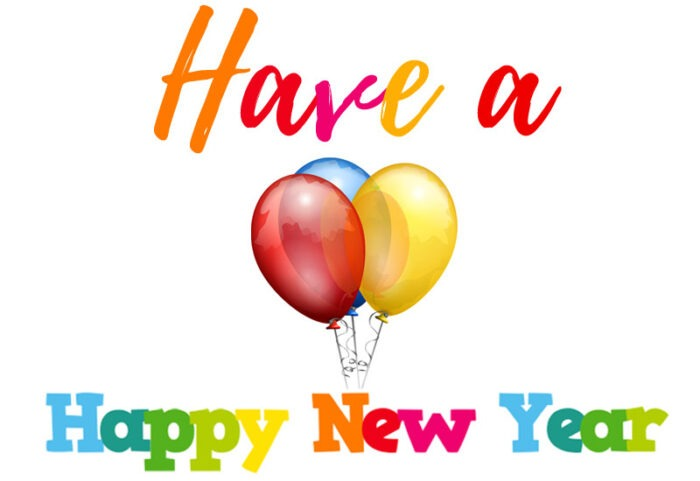 have a happy new year 2021 clipart