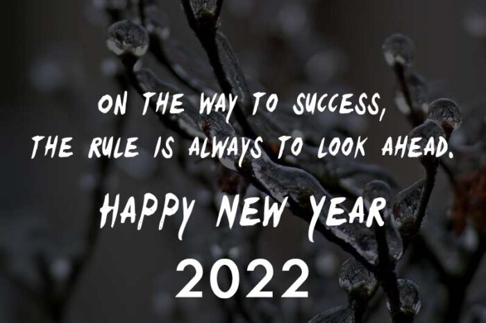 Positive 2022 quotes new year motivational message