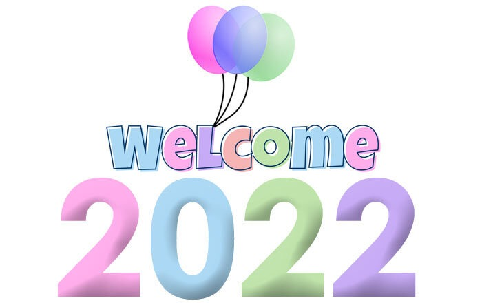 Welcome 2022 clipart