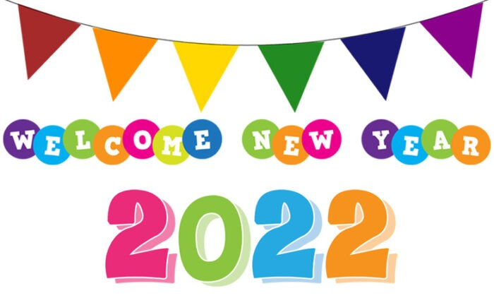 Welcome 2022 clipart new year images free download