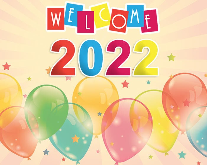 welcome 2022 new year pics
