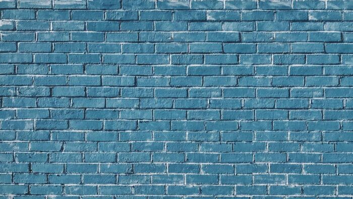 brick wall background blue plain realistic virtual backgrounds for zoom meetings