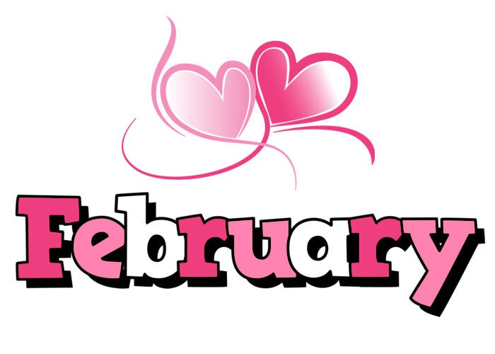 february clipart 2021