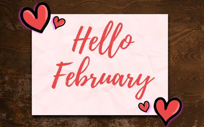 Hello February 2021 pictures banner pics